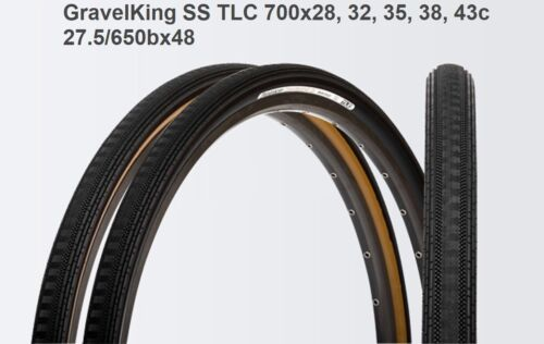 The NEW Panaracer GravelKing SS TLC 700x28, 32, 35, 38, 43 & 27.5/650Bx48c