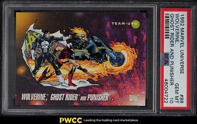 1992 Marvel Universe Ghost Rider Punisher Wolverine 88 PSA 10 GEM MINT - $26.00