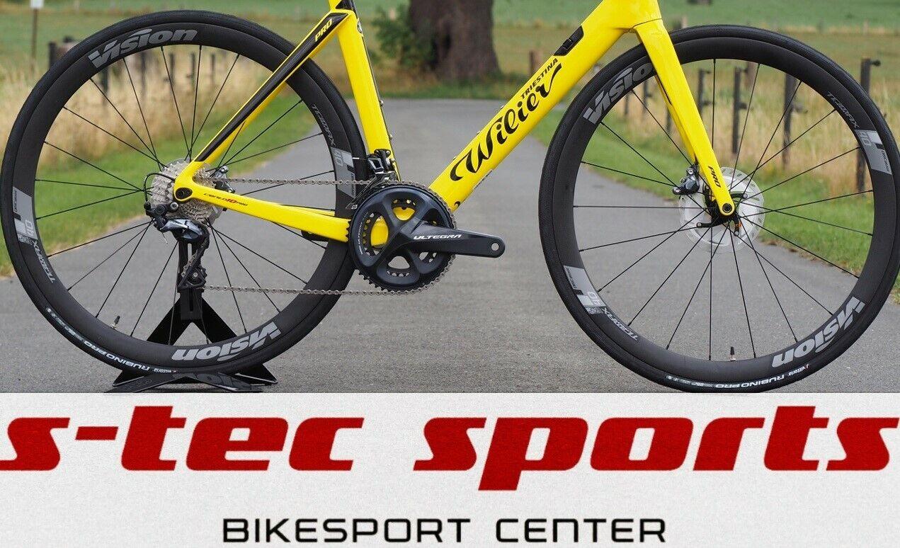 Détails sur Vision Trimax Charbon 40 Disque Ensemble de Roue, Vélo Course, Roadbike, Roues