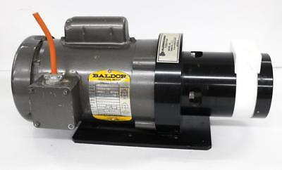 Fluorocarbon Turbo Pump Model 3.0 W Baldor Vl3503 Industrial Motor
