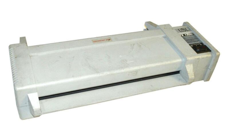 """USI INC. FX 1200 12"""" HEAVY DUTY LAMINATOR 120 VAC"""