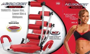3 in 1 AB Rocket Twister Workout Exercise Gym Fitness+DVD+Meal Pl Sydney City Inner Sydney Preview