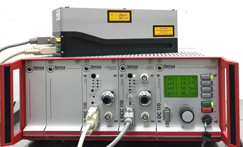 Toptica Photonics Blue Mode 5008 High Power Diode Laser w/DC 110 Laser Control