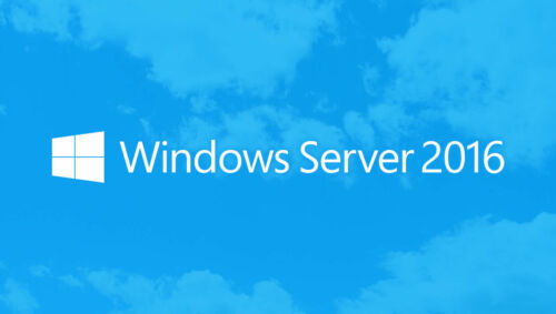 Windows Server 2016 Standard 64-bit License - Multilanguage