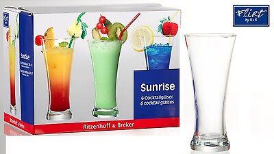 Hoch-cocktail (Ritzenhoff & Brekerof Deutschland Set mit 6 Hoch Cocktailgläser / Lager Brille)