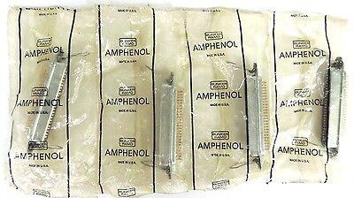 Lot Of 4 New Amphenol 57-40500 Mini D Ribbon Connectors