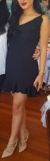 Black mini dress Size 8 / small
