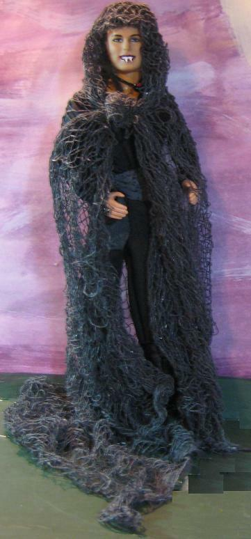 The Forgotten Vampire Lord~OOAK Gothic Barbie Ken Doll Repaint