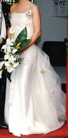 Mathyro Designer Wedding Dress, One Of A Kind