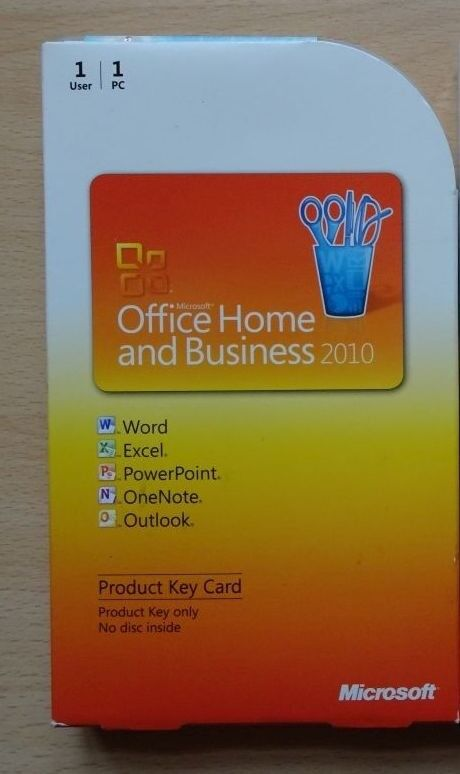 office 2010 home business