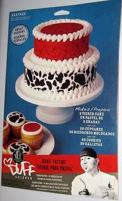 DUFF GOLDMAN CAKE TATTOO DESIGNS Cowboy Western Edible Cupcake Cake Decorations](Cowboy Western Tattoos)