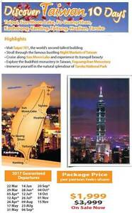 10 day tour of fabulous Taiwan Adelaide CBD Adelaide City Preview