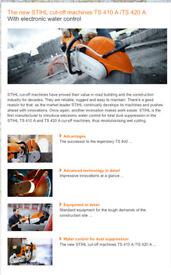 Stihl TS 410/420 petrol cutting saw
