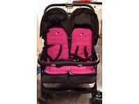 Joie aire double twin pram stroller
