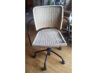 Ikea Gregor wicker office swivel chair