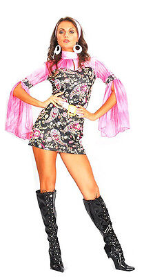Best Dressed Sexy Go Go Female Girl Costume One Size Fits All - Best Female Costume