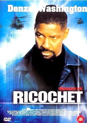 Ricochet  1991  Dvd   Denzel Washington  John Lithgow  Brand New   Sealed
