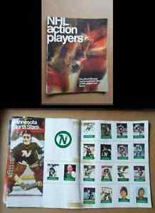 WANTED:1974-75 LOBLAWS NHL ACTION PLAYERS ALBUM SET