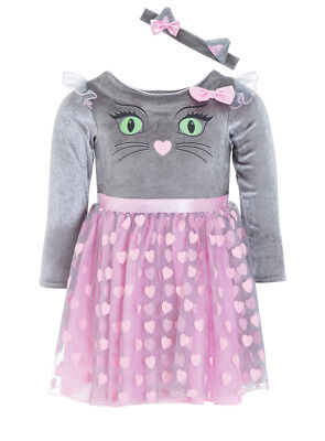 Halloween Devilishly Cute Cat Toddlers Fancy Dress Dressing up Costume H18