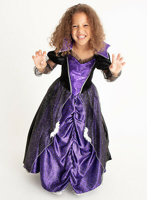 Halloween Girls Vampire Vampiress Fancy Dress Dressing up Costume Age 11-12 H18](Girl Halloween Costumes Age 11)