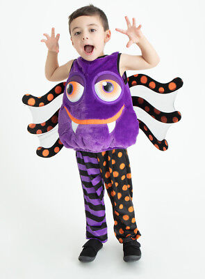 Scary Spider Kostüme (Halloween Scary Spider Boys Girls Toddlers Fancy Dress Dressing up Costume H18)