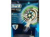 Oral b 4000 pro electric toothbrush