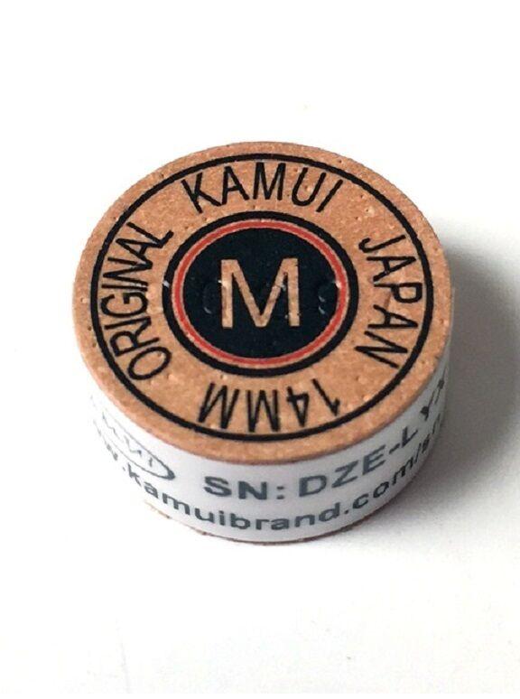 1 Kamui Original BROWN (MEDIUM = M) Tip - New Red Ring -  FREE US SHIPPING