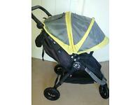 Baby jogger city mini Gt 2014 model with footmuff