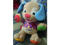 Baby activity toy from tummy