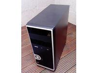 PC minitower case with PSU