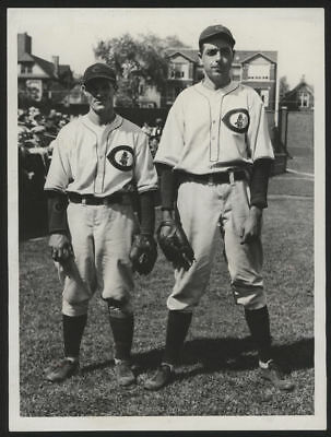 1931 Orig 1St Gen Press Photo   Kreevich Teachout  Cubs