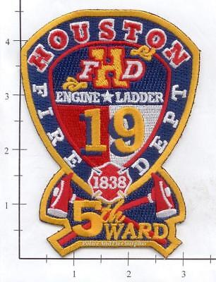 Texas - Houston Station 19 TX  Fire Dept Patch