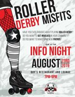 Roller Derby Info Night with the Misfits