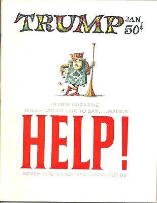 TRUMP MAGAZINE #1, JANUARY 1957 - Kurtzman, Elder, Wood, etc -- NOT THE DONALD!
