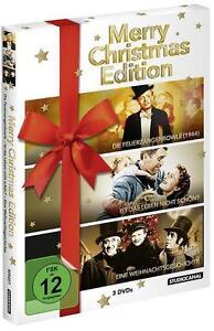 Merry Christmas Edition DVDs NEU
