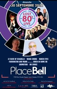 LOST 80S LIVE TIX/SECTION 115 ROW L /BELOW COST/SAVE $63.00
