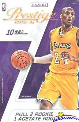 2015/16 Panini Prestige Basketball Factory Sealed Hanger Box-ACETATE ROOKIE+2 RC