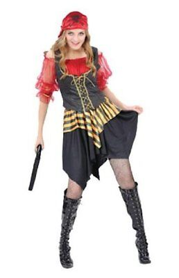 Erwachsene Damen Seeräuber Karibik Piraten Damen Maskenkostüm Kapitän (51843)