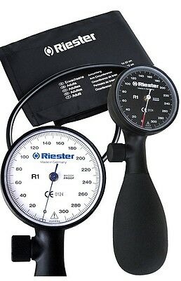 Riester 1250-107 R1 Shock-proof Blood Pressure Aneroid Sphygmomanometer