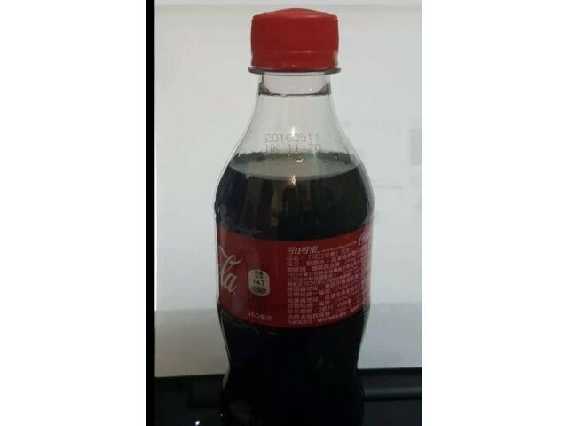 coca cola coke taiwan plastic bottle  350ml new