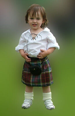 Scottish Baby Kilt Outfit 12-24 Month  A Unique and Delightful Halloween Costume](Unique 12 Month Halloween Costumes)