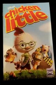 PS2 playstation 2 game booklet - Chicken Little. GC