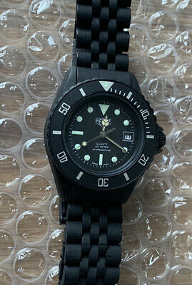 Rare NOS Black Coral PVD Heuer Professional Vintage Diver Serviced Pre-Tag 200m