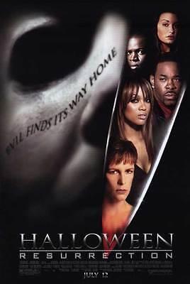 HALLOWEEN: RESURRECTION Movie POSTER 11x17 Busta Rhymes Sean Patrick Thomas