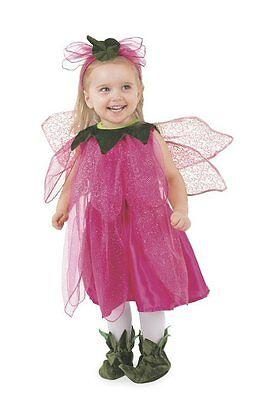 Tulip Pixie Fairy Halloween Costume Toddler 2T-4T NEW Free Shipping](Fairy Halloween Costumes Toddler)