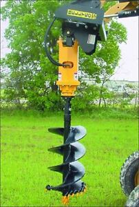 Belltec Auger/Anchor Drive Skid Steer Package