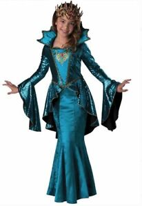 NEW InCharacter Medieval Queen Girls Comic Con Costume size 12