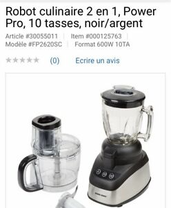 Robot culinaire Black and Decker neuf