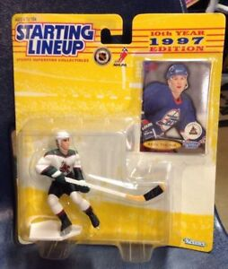 1997 Starting Lineup Keith Tkachuk Phoenix Coyotes Winnipeg Jets