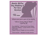 Dog Walker Walking & Pet Care Service ~ Linlithgow and Bo'ness